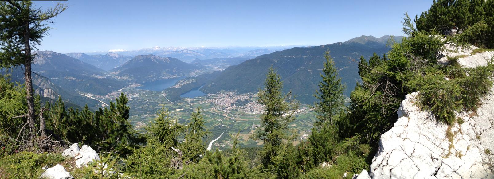 Panoramica dal sentiero