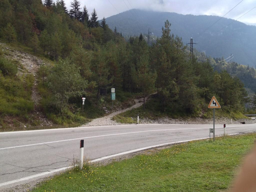 Inizio sentiero 490