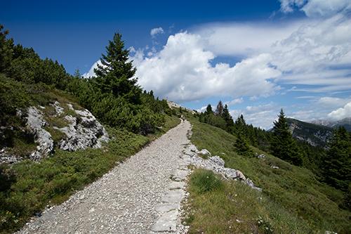 Verso la cima Vezzena