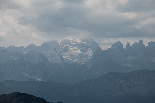 Cima Tosa nel Gruppo del Brenta.