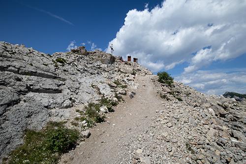 Salita sulla cima dello Pizzo di Levico