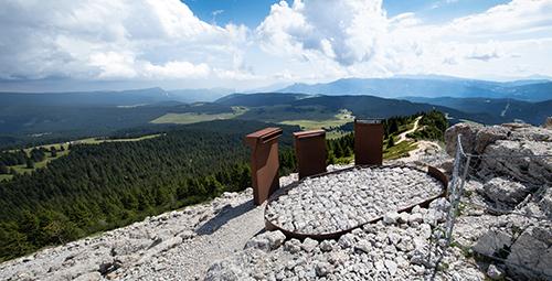 Vista dell'Altopiano Vezzena, dal Pizzo di Levico