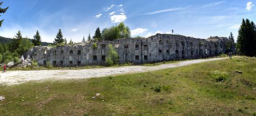 Panoramica de Forte Busa Verle