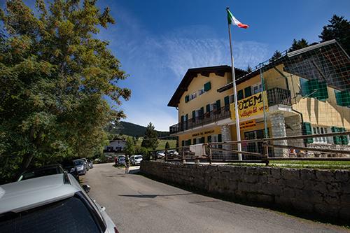 La Casa Alpina al Passo Vezzena